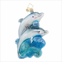(SOLD OUT) A Playful Pair Radko Ornament