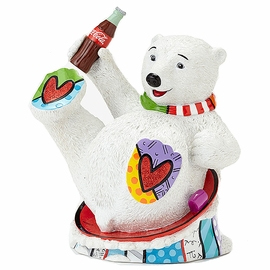 Baby Polar Bear Figurine by Britto