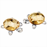 Tortoises Baby , Crystal golden shadow (set of 2)