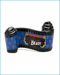( Sold Out ) Beauty and the Beast - Title Plaque