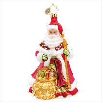 Bountyful Noel Radko Christmas Ornament