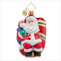 Candy Swing Delight Gem Radko Ornament
