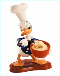 (SOLD OUT) Chef Donald Donald Duck Somethings Cooking