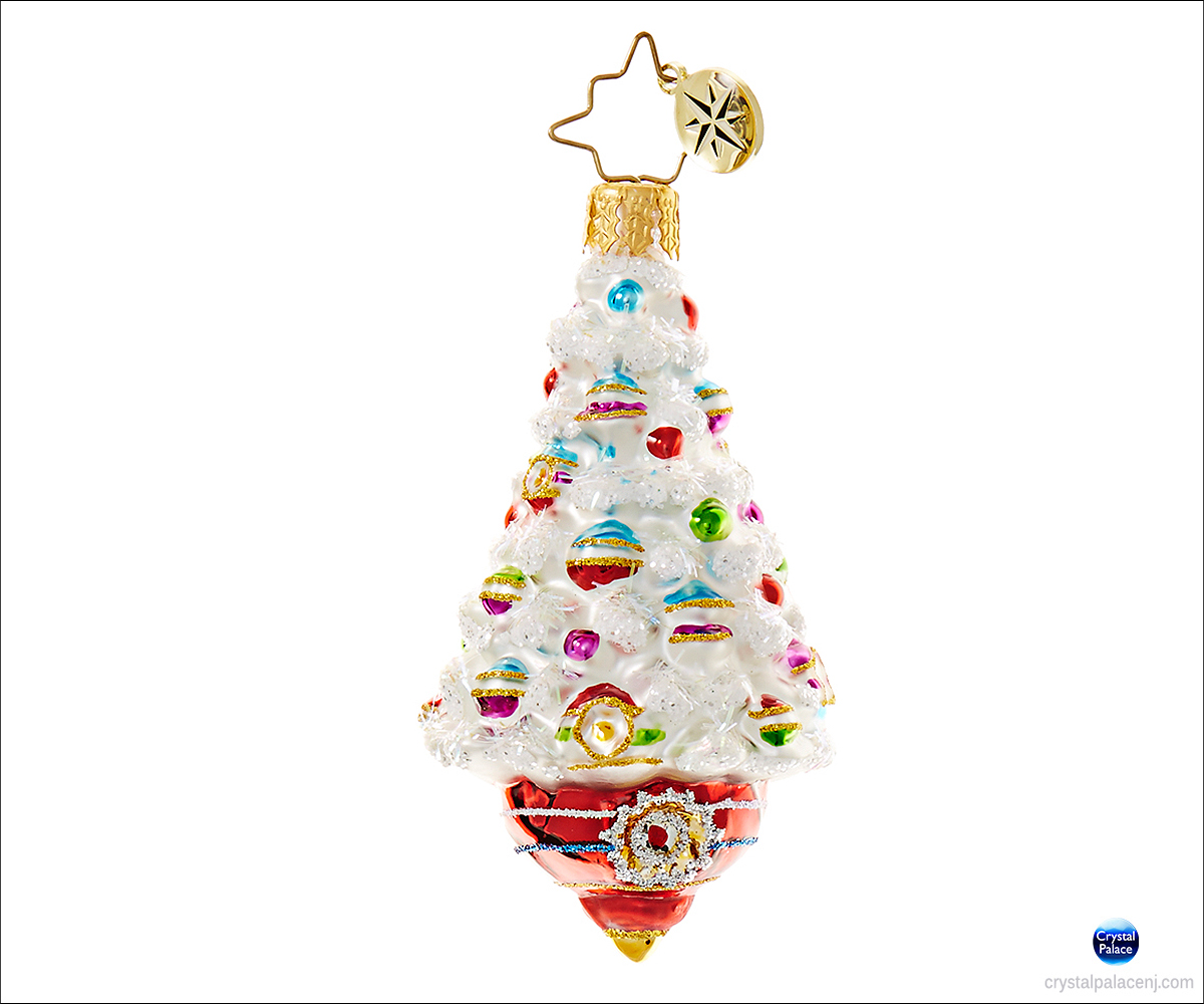 Frosted christmas ornaments -  Sold Out Adorned Frosted Delight Radko Little Gem Christmas Ornament