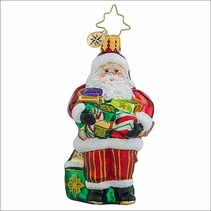 Christopher Radko Arm Full of Joy Gem Christmas Ornament
