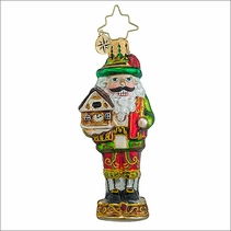 Christopher Radko Bavarian Cracker Gem Christmas Ornament