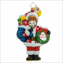(SOLD OUT) Bruce Brings the Cheer Radko Christmas Ornament