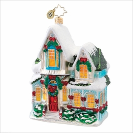 (SOLD OUT) Warm for the Holidays  Radko Christmas Ornament