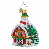 Christopher Radko Country Christmas Gem Christmas Ornament