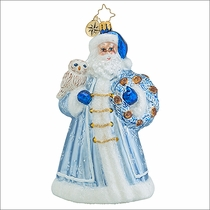 (SOLD OUT)   Father Rime Radko Christmas Ornament