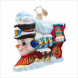 (SOLD OUT) Frosty Express Radko Christmas Ornament