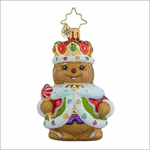 Christopher Radko Ginger King Gem Christmas Ornament