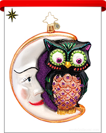 Halloween Radko Ornaments