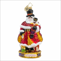 Christopher Radko Here Comes Drosselmeyer Christmas Ornament