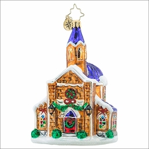 Christopher Radko Holy Gathering  Christmas Ornament