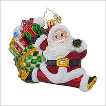 Christopher Radko Leap into the Holidays Christmas Ornament