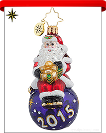 Little Gems Radko Ornaments