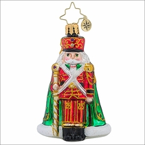 Christopher Radko Major General Cracker Gem Christmas Ornament