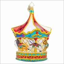 (SOLD OUT)  Menagerie Go-Round Christmas Ornament