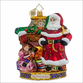 (SOLD OUT)  Radko My Beautiful Nutcracker Christmas Ornament