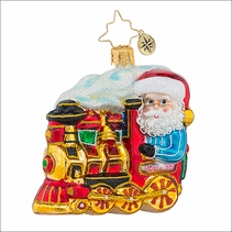 Christopher Radko North Pole Express Gem Christmas Ornament