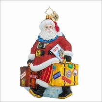 Christopher Radko Packed for the Holidays Christmas Ornament