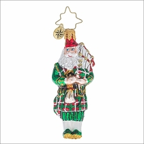 Christopher Radko Piper Piping Gem Christmas Ornament
