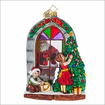 (SOLD OUT) Preparing for Christmas Radko Ornament