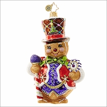 Right on Time Ginger Radko Christmas Ornament