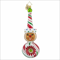 Christopher Radko Sparkle Spice Christmas Ornament