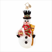 Stately Sweeper Radko Christmas Ornament