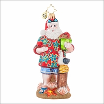 Christopher Radko Summertime Dreams Christmas Ornament