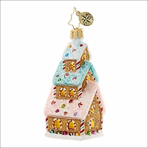 (SOLD OUT) Tasty Triple Decker Little Gem   Radko Christmas Ornament