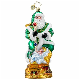 (SOLD OUT) Christopher Radko  The First Noel Christmas Ornament