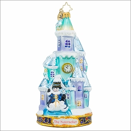 (SOLD OUT) Radko The Land of Snow Christmas Ornament