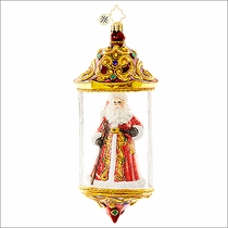 (SOLD OUT) Victorian Vessel Radko Christmas Ornament