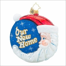 (SOLD OUT)  Welcome Home Radko Christmas Ornament