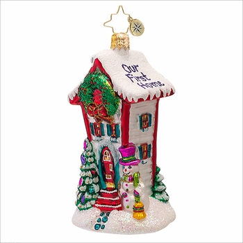(SOLD OUT) Where the Heart Is Radko  Ornament