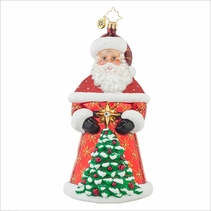 (SOLD OUT) Crimson Nick Radko Ornament