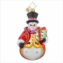 Dapper Dan Radko Ornament