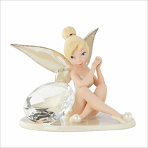 Disney's Tink's Glittery April Gift Figurine by Lenox