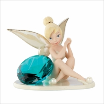 Disney's Tink's Glittery December Gift Figurine by Lenox