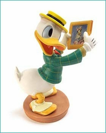 ( Sold Out ) Donald Duck With Love From Daisy