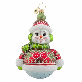 (SOLD OUT) Dressed to Chill Radko Ornament