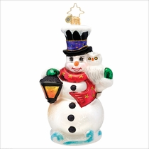 (SOLD OUT) Frosty Midnight Meeting Radko   Ornament