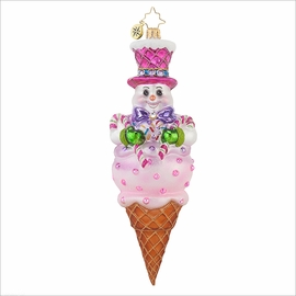 (SOLD OUT) Frosty Treat Radko Ornament