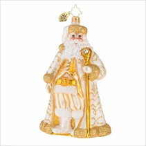 (SOLD OUT) Golden Baroque Nicholas Radko Ornament
