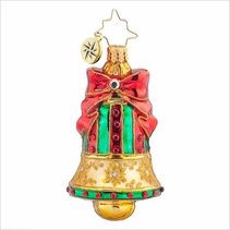 Golden Chime Radko Ornament