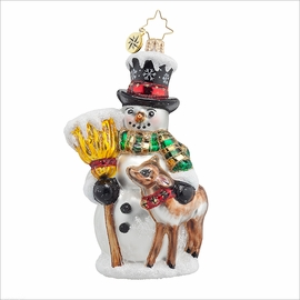 (SOLD OUT) Good Friends Forever Radko Ornament