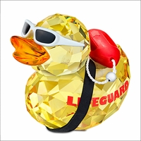 Happy Duck - Lifeguard